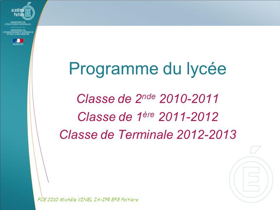 Programme du lycée Classe de 2nde Classe de 1ère - ppt video online ... Programme du lycée Classe de 2nde Classe de 1ère