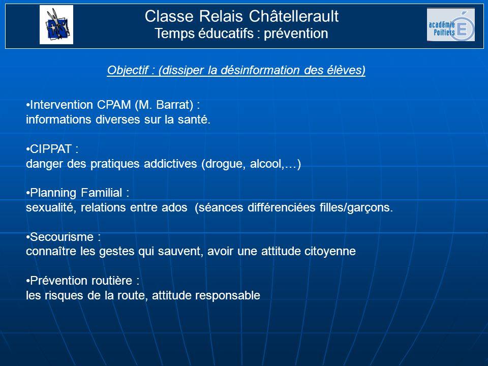 Classe Relais Châtellerault