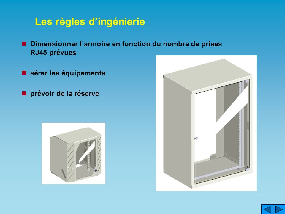 Les règles d'ingénierie