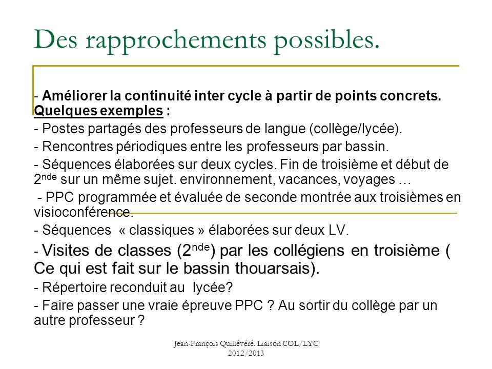 liaison coll u00e8ge lyc u00e9e   obstacles et difficult u00e9s