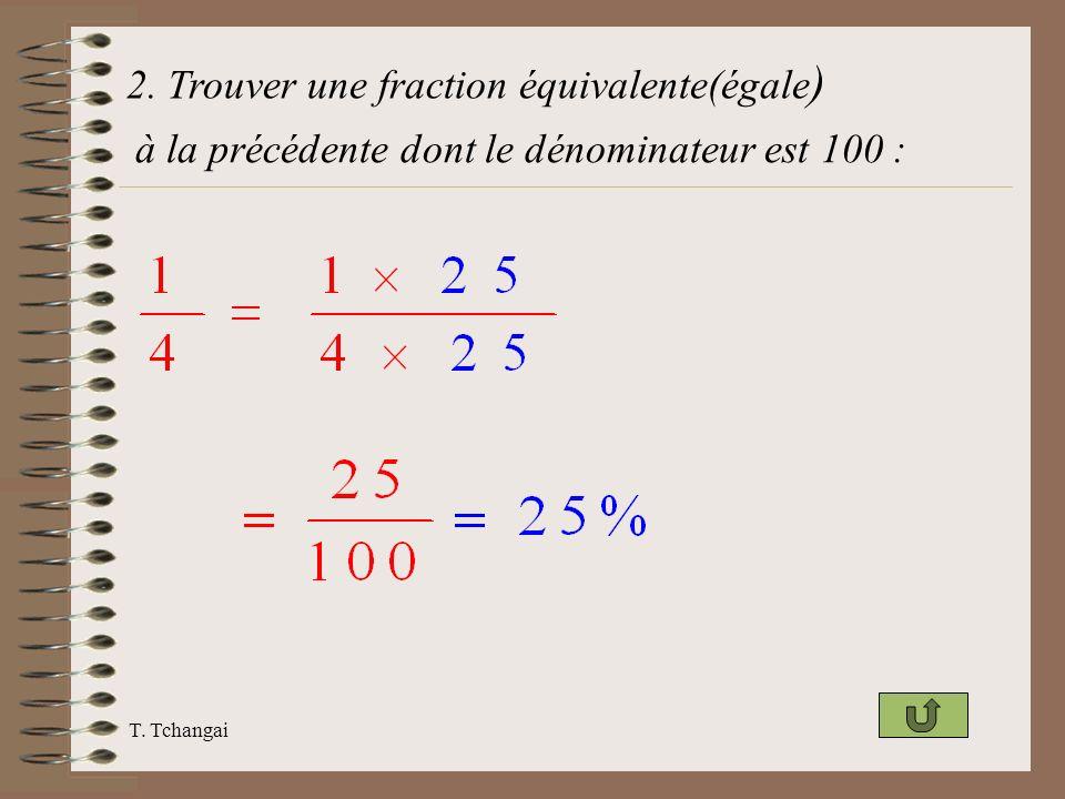 2. Trouver une fraction équivalente(égale)