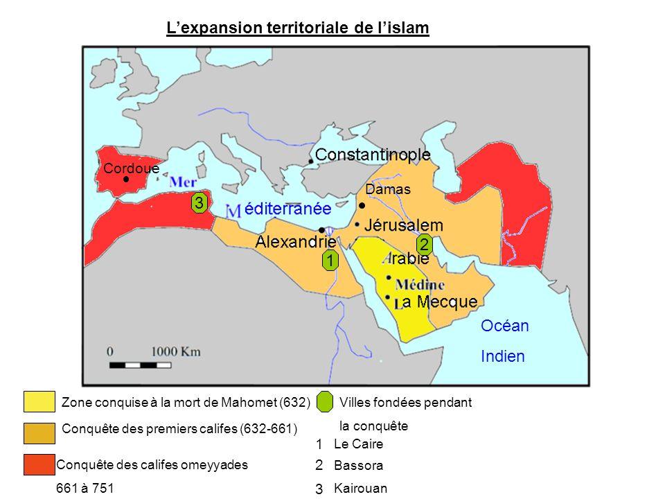 L'expansion territoriale de l'islam
