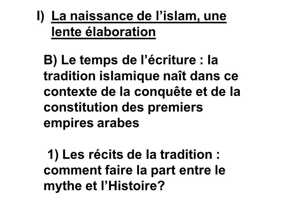 La naissance de l'islam, une lente élaboration