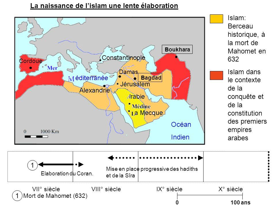 La naissance de l'islam une lente élaboration