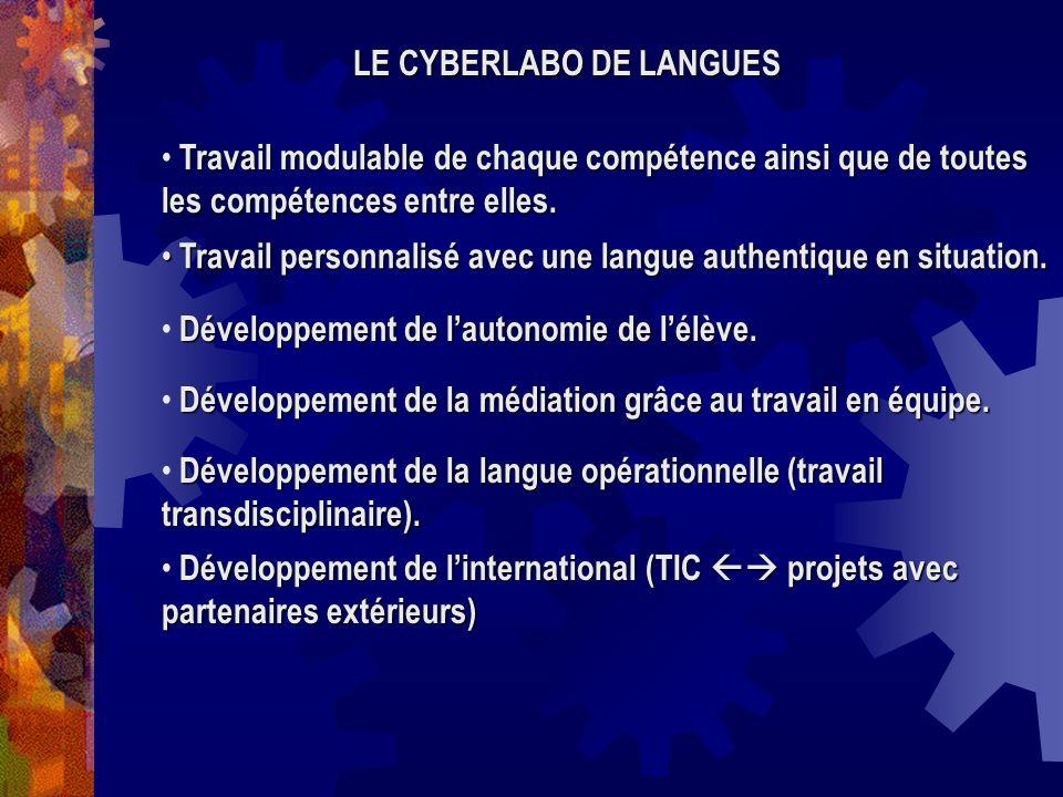 LE CYBERLABO DE LANGUES