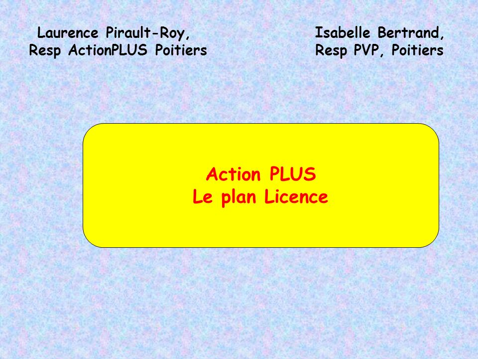 Resp ActionPLUS Poitiers
