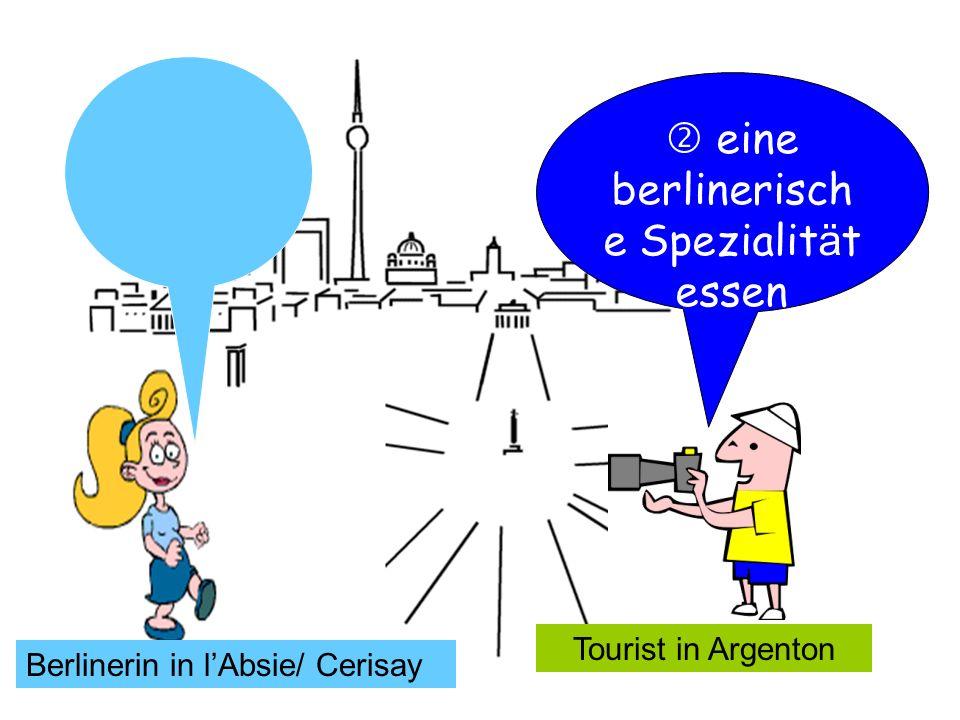  eine berlinerische Spezialität essen