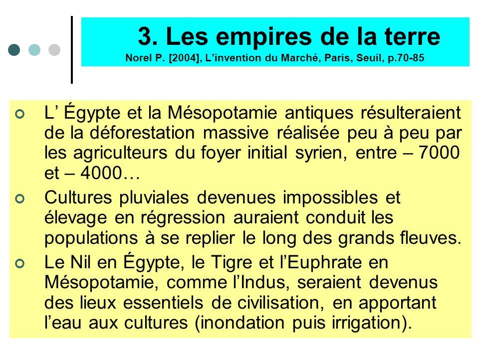 3. Les empires de la terre Norel P