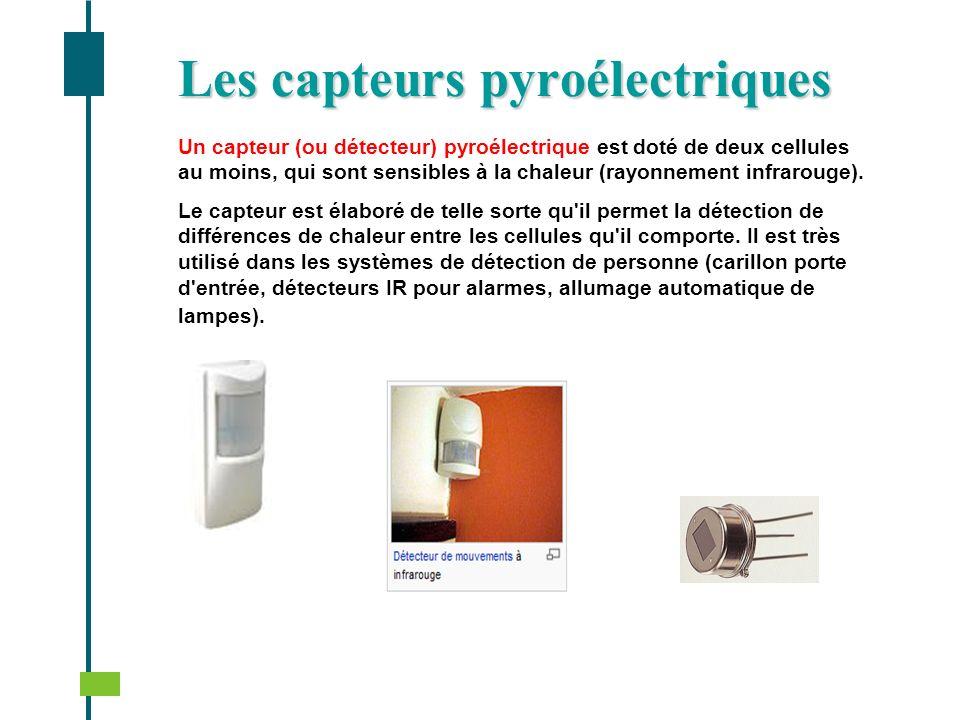 Les capteurs pyroélectriques