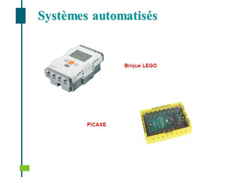 Systèmes automatisés Brique LEGO PICAXE