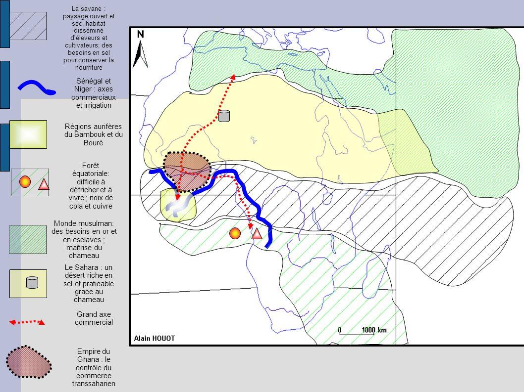 Sénégal et Niger : axes commerciaux et irrigation
