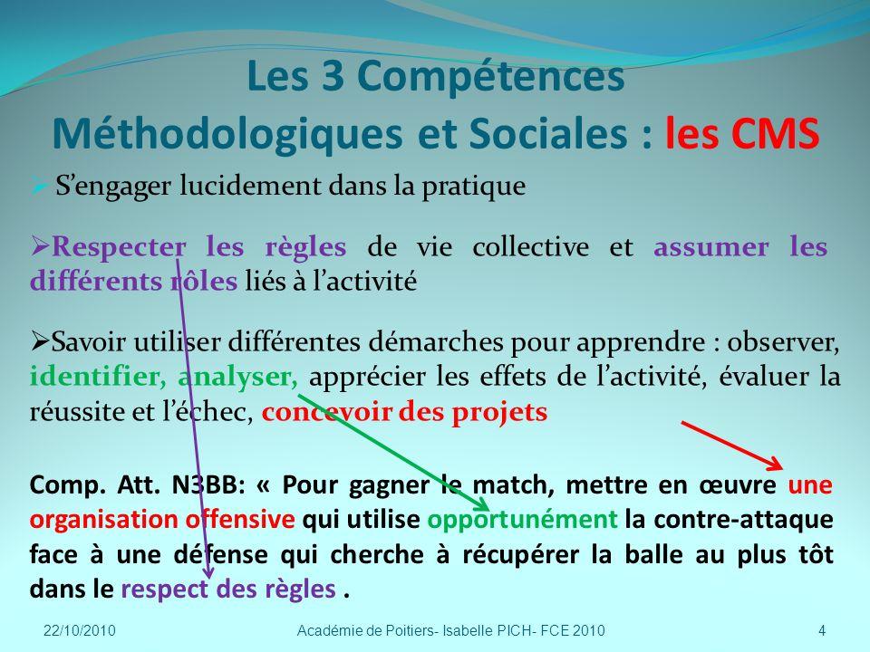 Les 3 Compétences Méthodologiques et Sociales : les CMS