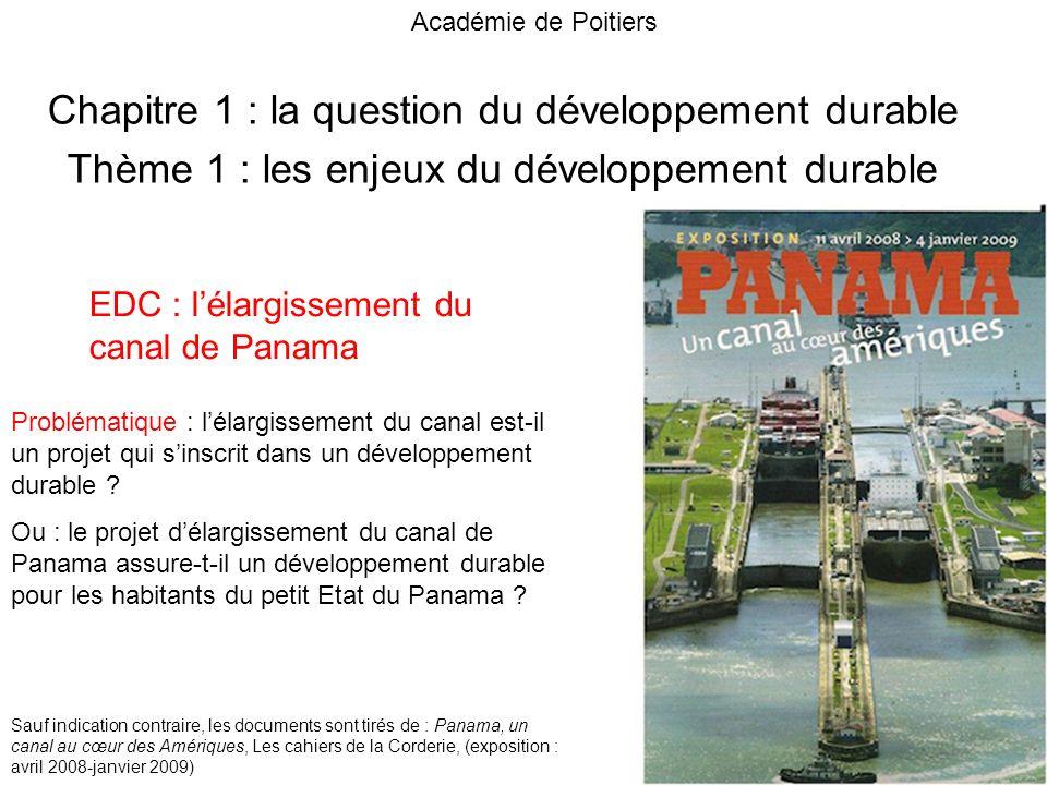 Chapitre 1 : la question du développement durable