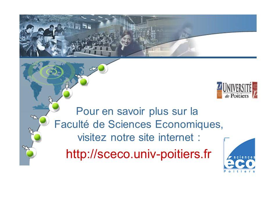 http://sceco.univ-poitiers.fr Pour en savoir plus sur la
