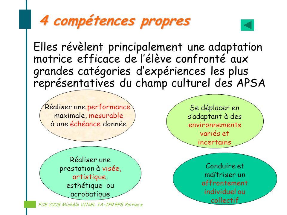 4 compétences propres
