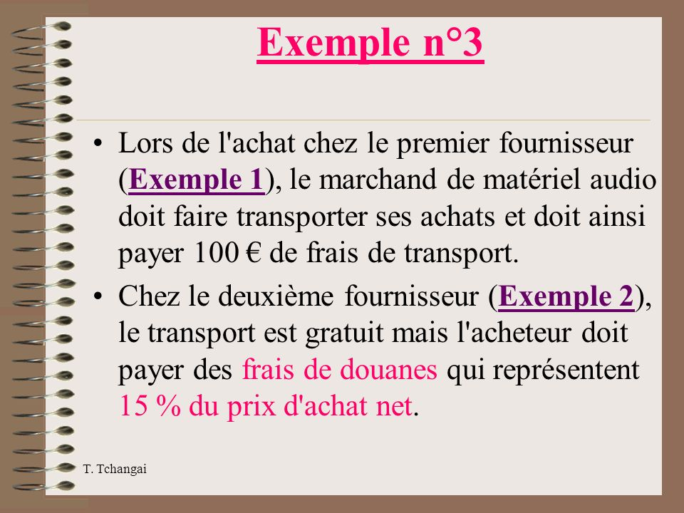 Exemple n°3