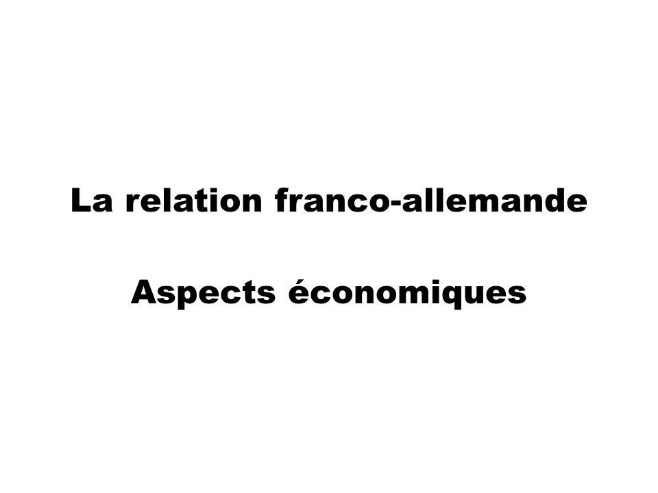 La relation franco-allemande