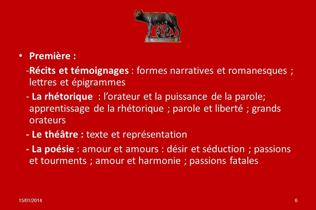 - Le théâtre : texte et représentation