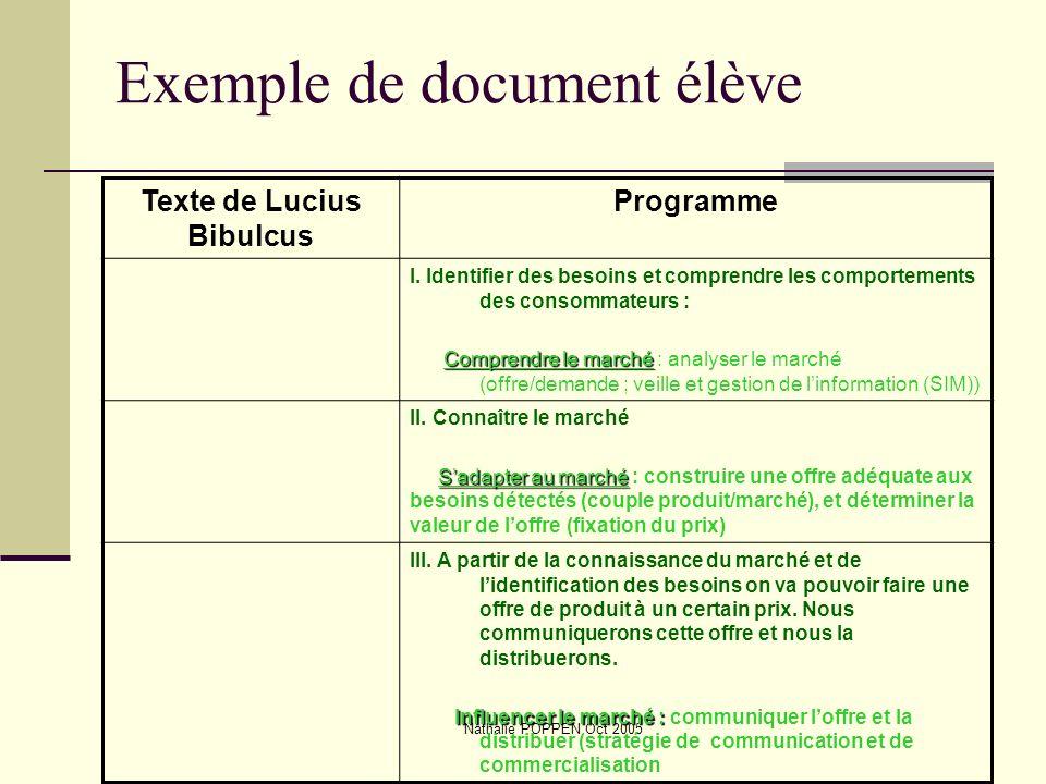 Exemple de document élève