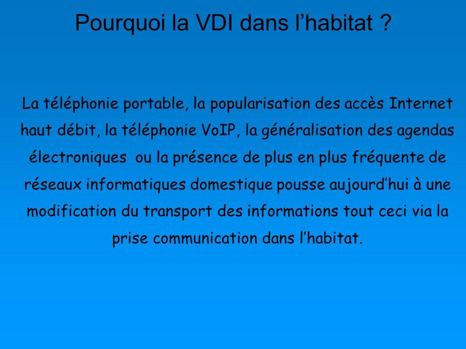 Pourquoi la VDI dans l'habitat