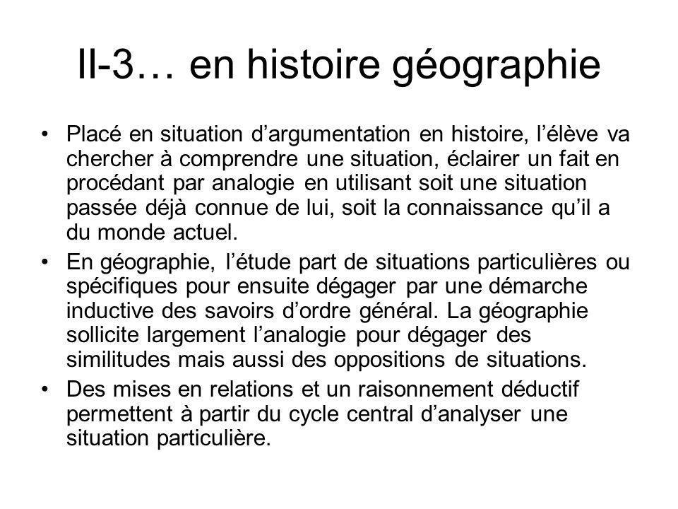 II-3… en histoire géographie