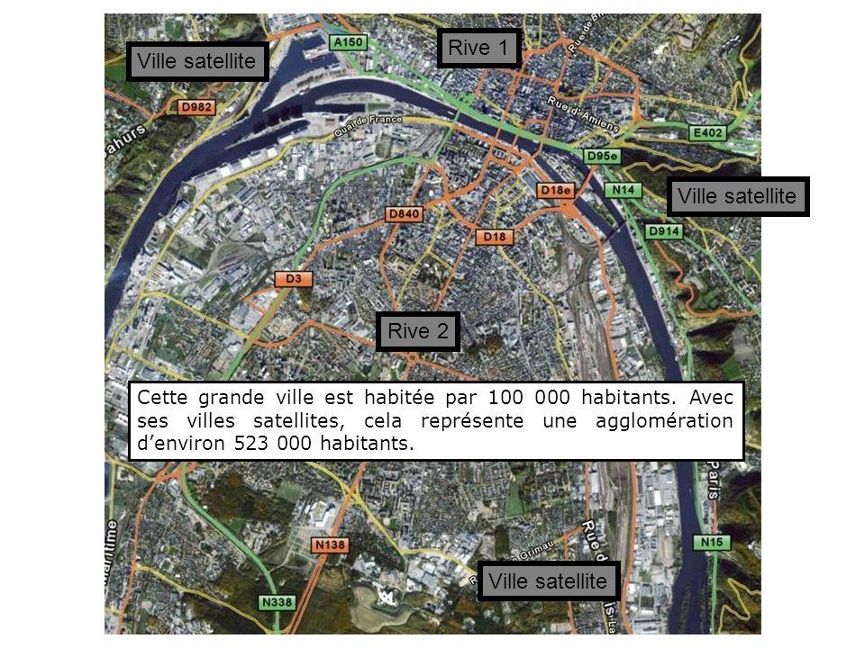 Rive 1 Ville satellite Ville satellite Rive 2 Ville satellite