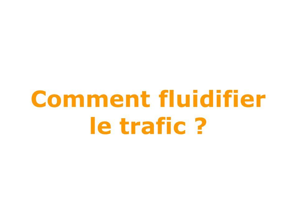 Comment fluidifier le trafic