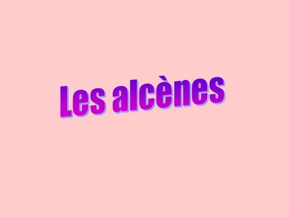 Les alcènes