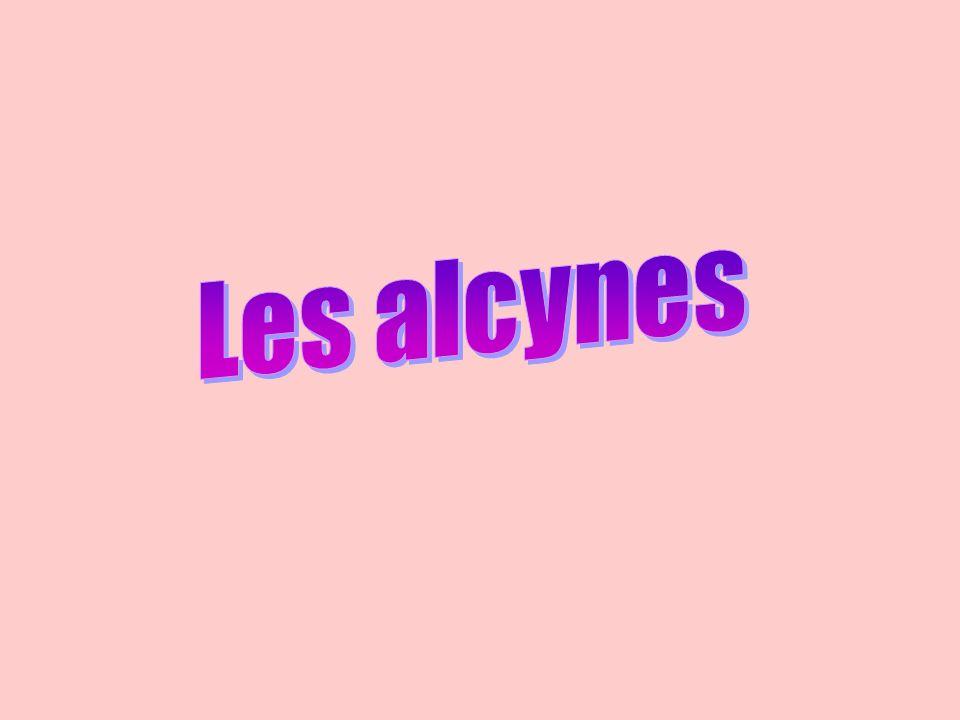 Les alcynes