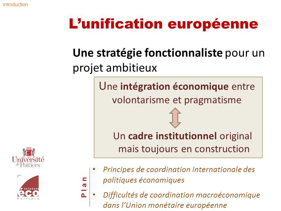 L'unification européenne