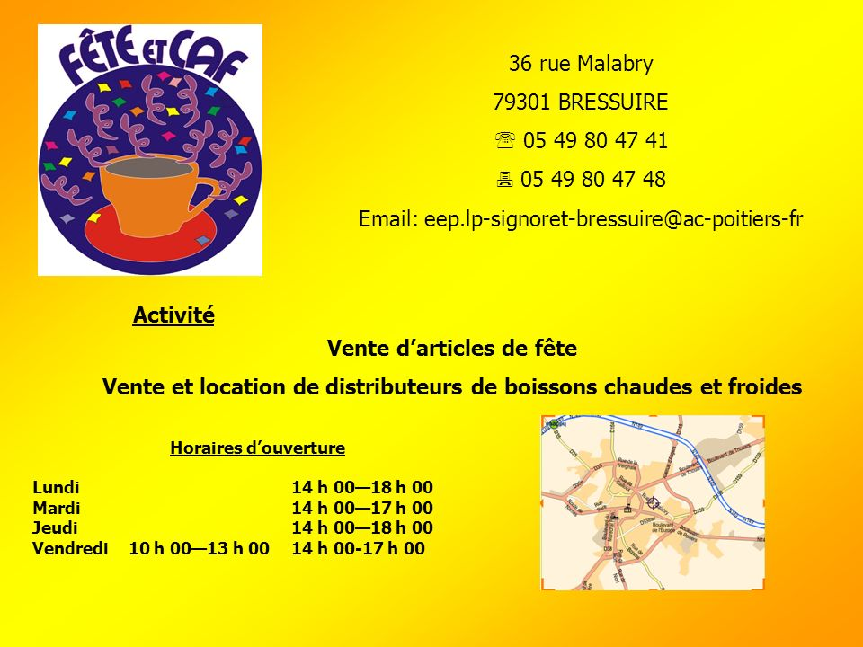 Email: eep.lp-signoret-bressuire@ac-poitiers-fr