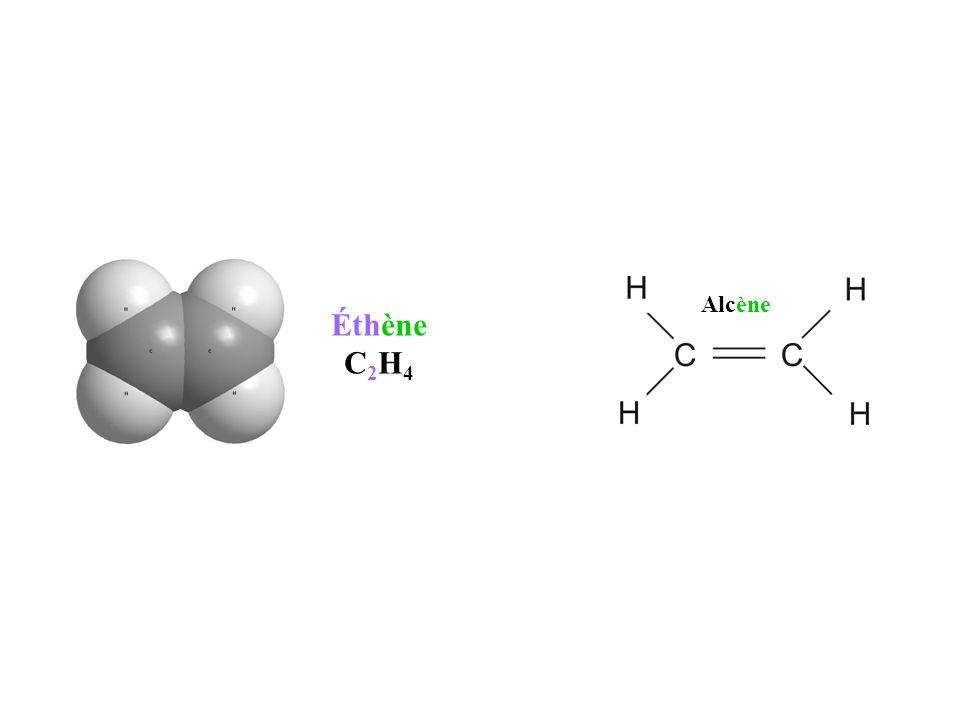 Alcène Éthène C2H4