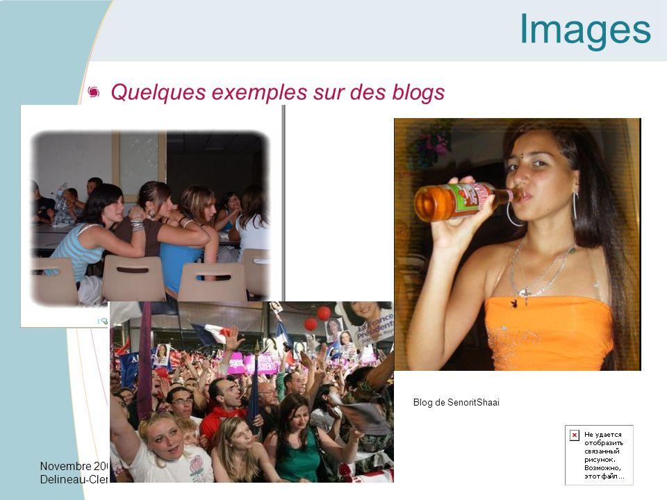 Images Quelques exemples sur des blogs