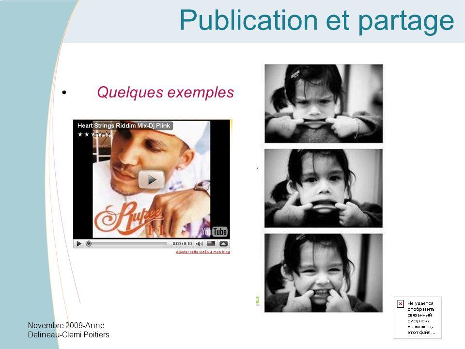 Publication et partage