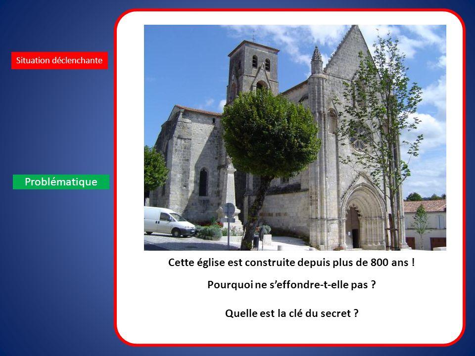 Cette église est construite depuis plus de 800 ans !