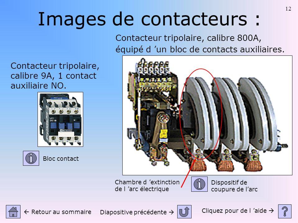 Images de contacteurs :