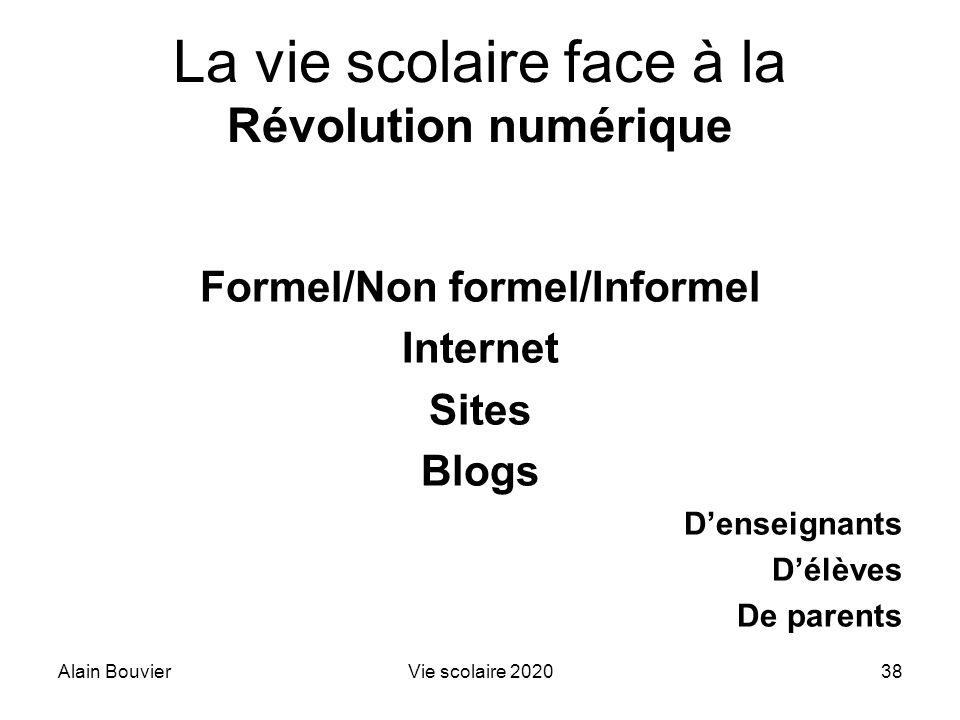 La vie scolaire face à la Révolution numérique