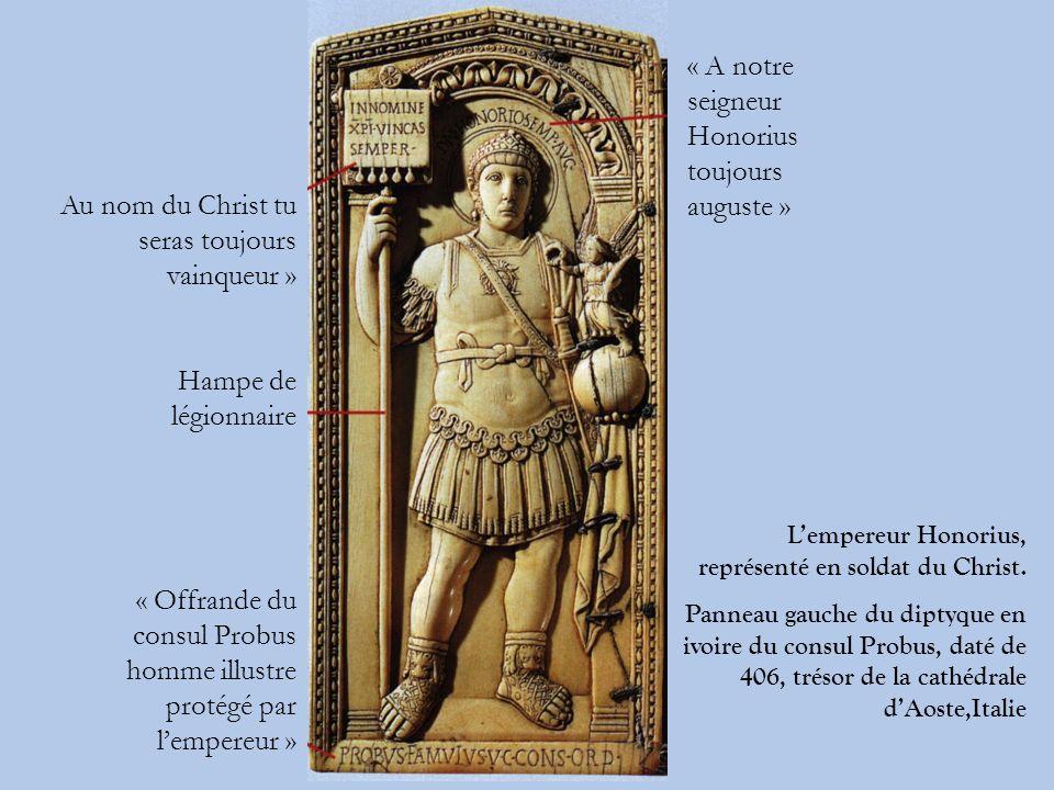 « A notre seigneur Honorius toujours auguste »