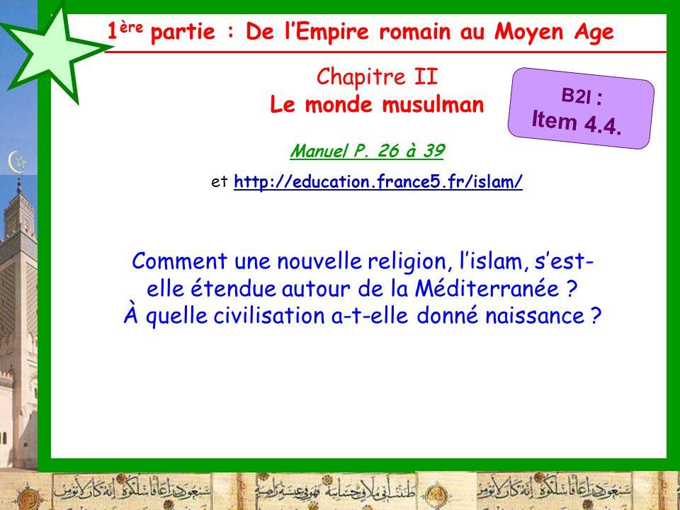 et http://education.france5.fr/islam/