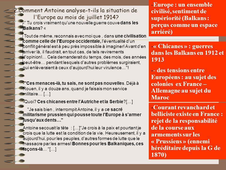 « Chicanes » : guerres dans les Balkans en 1912 et 1913