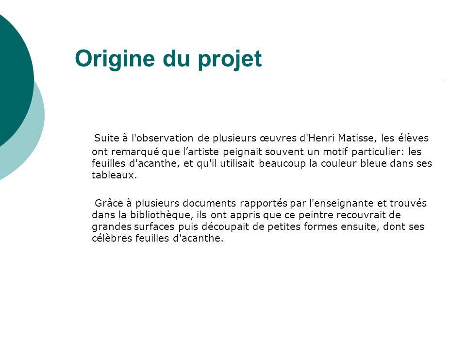 Origine du projet