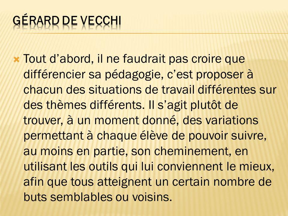 Gérard De Vecchi
