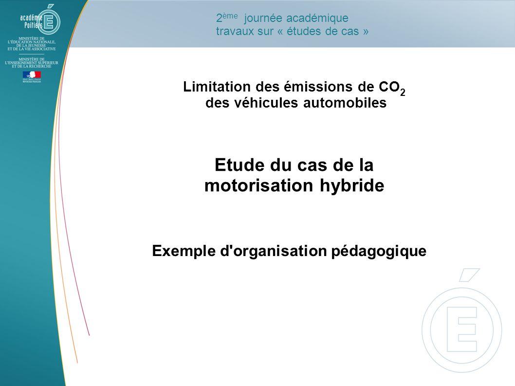 Etude du cas de la motorisation hybride