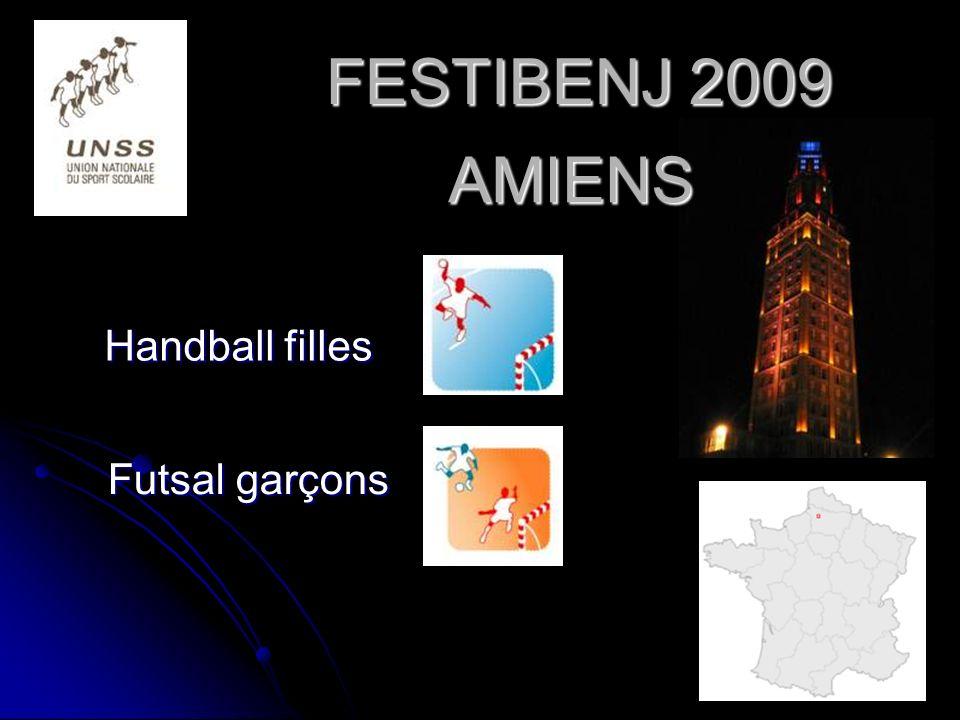 FESTIBENJ 2009 AMIENS Handball filles Futsal garçons