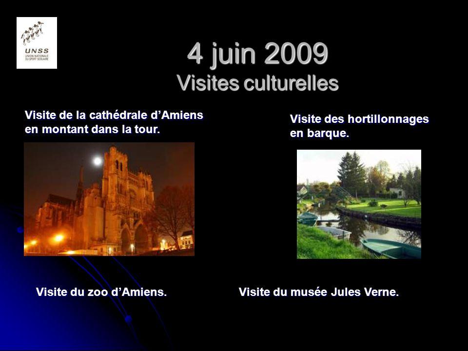 4 juin 2009 Visites culturelles
