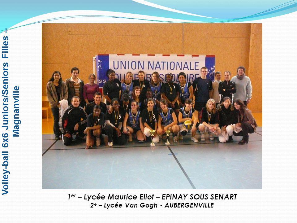 Volley-ball 6x6 Juniors/Seniors Filles – Magnanville