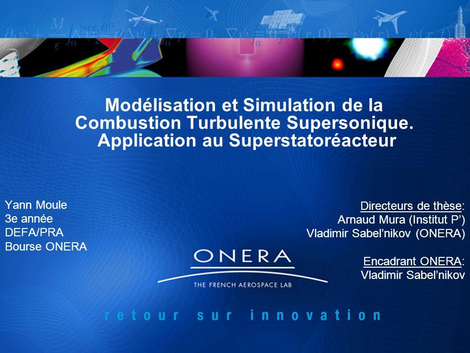 Yann Moule 3e année DEFA/PRA Bourse ONERA