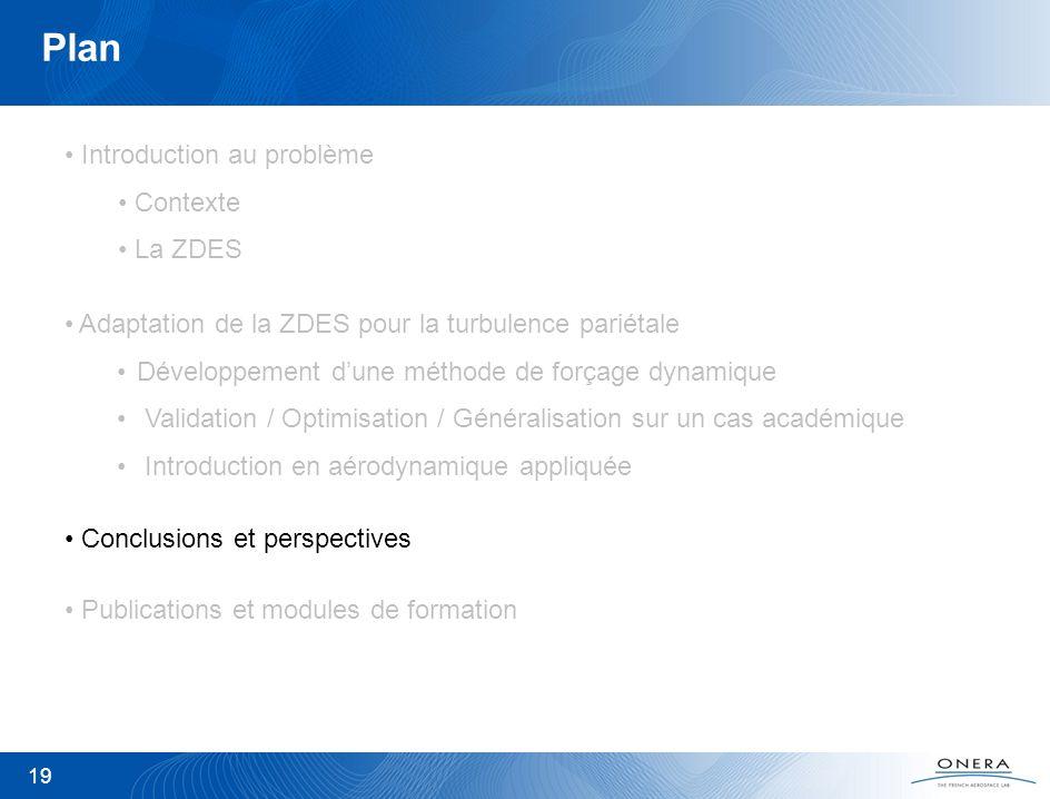 Plan Introduction au problème Contexte La ZDES