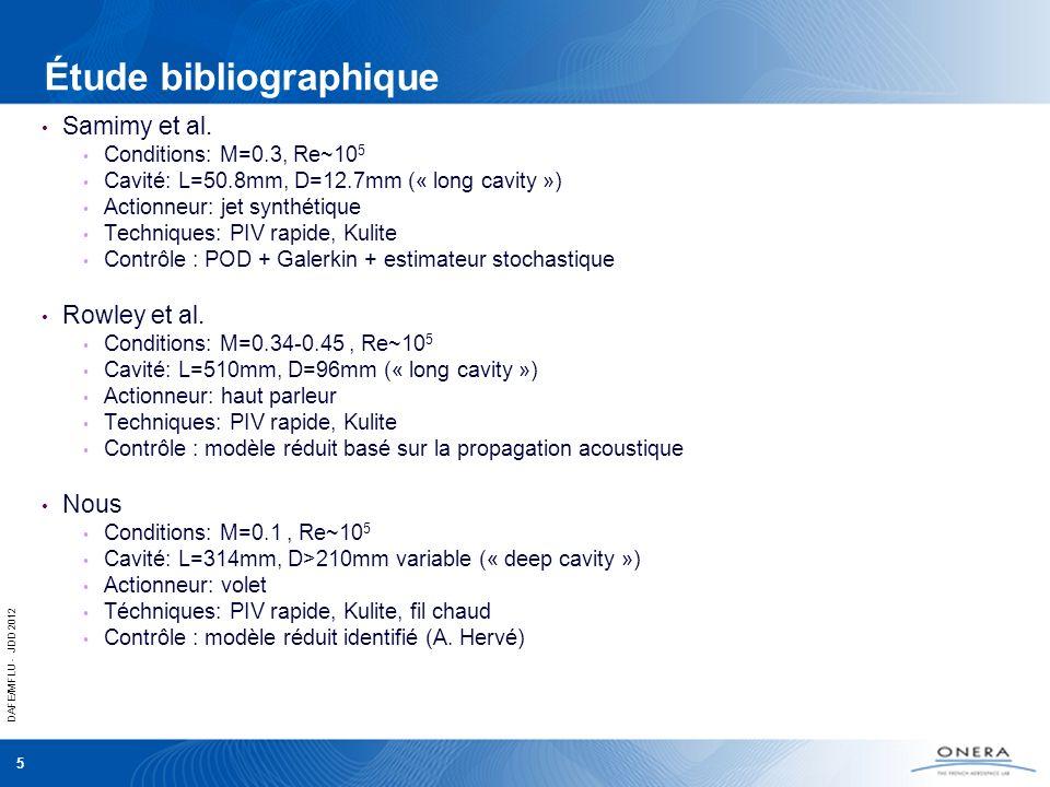 Étude bibliographique