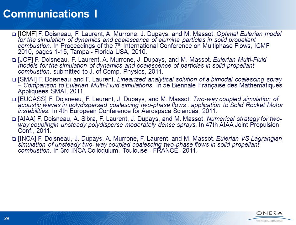 Communications I